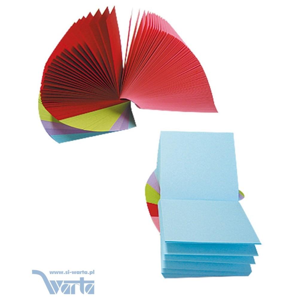 1829-120-050 Notes kostka 83x83x50, kolorowa, kręcona