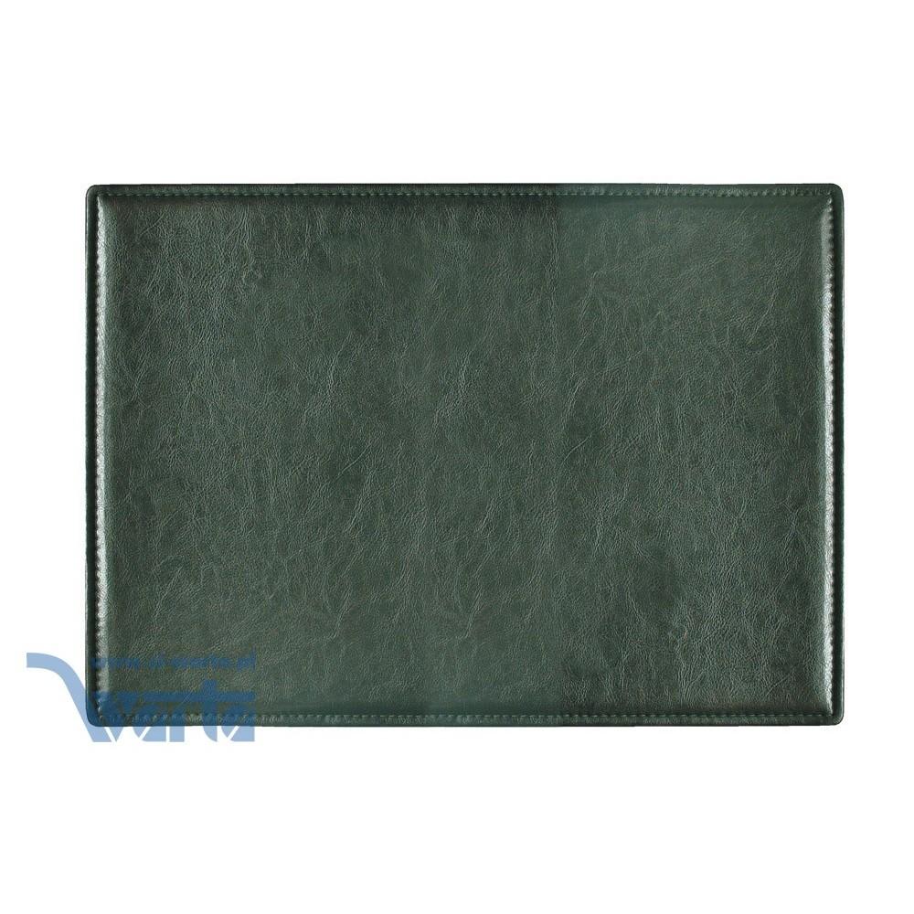 1824-910-018 Podkład na biurko, skóropodobny - zieleń