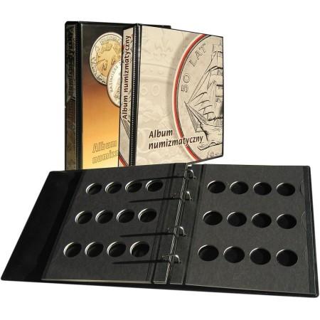 Album na monety 205x230, 3k, z zamkiem