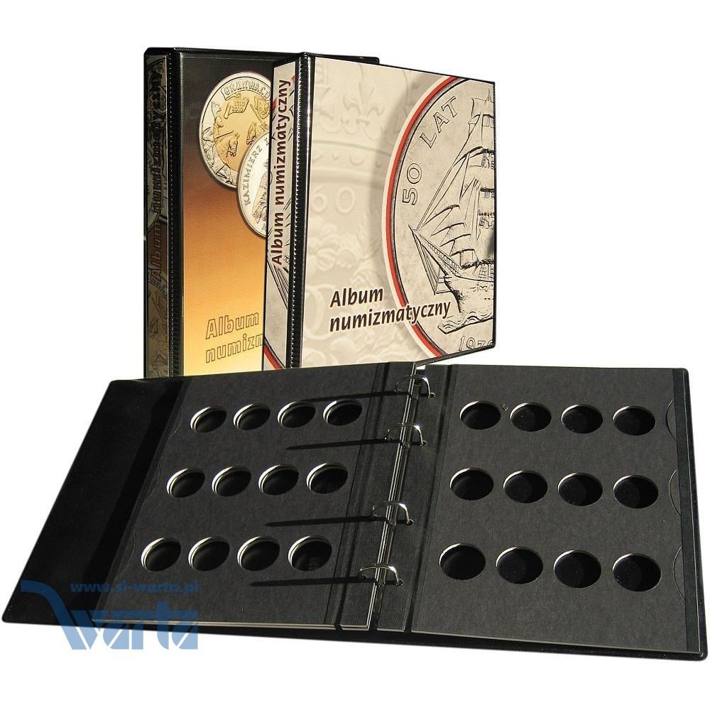 1829-112-009 Album na monety 205x230, 3k, z zamkiem