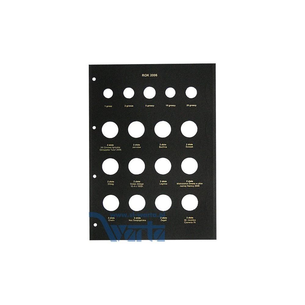 1829-112-029 Karta na monety 210x292 rok 2006, cz. I