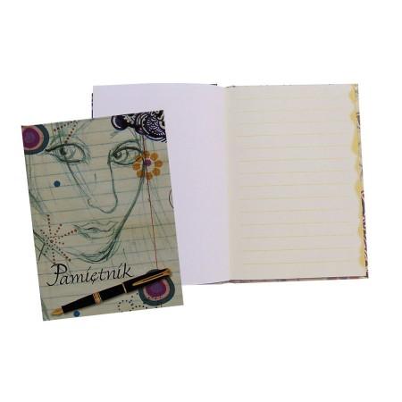 Pamiętnik ~A6, blok z poddrukiem
