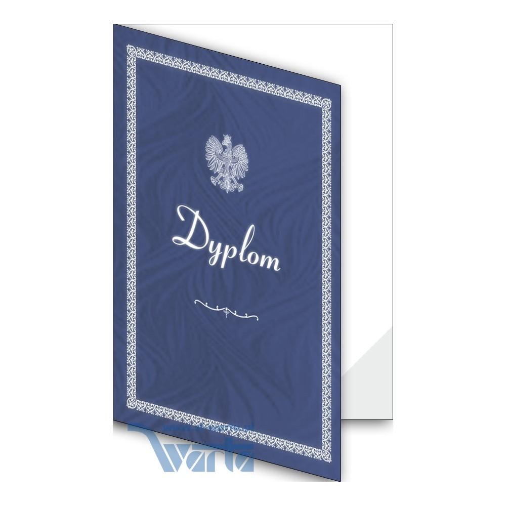 1824-333-701 01F Okładka okolicznościowa - Dyplom - wzór 01, narożnik foliowy