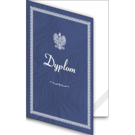 1824-333-700 01K Okładka okolicznościowa - Dyplom - wzór 01, narożnik kartonowy