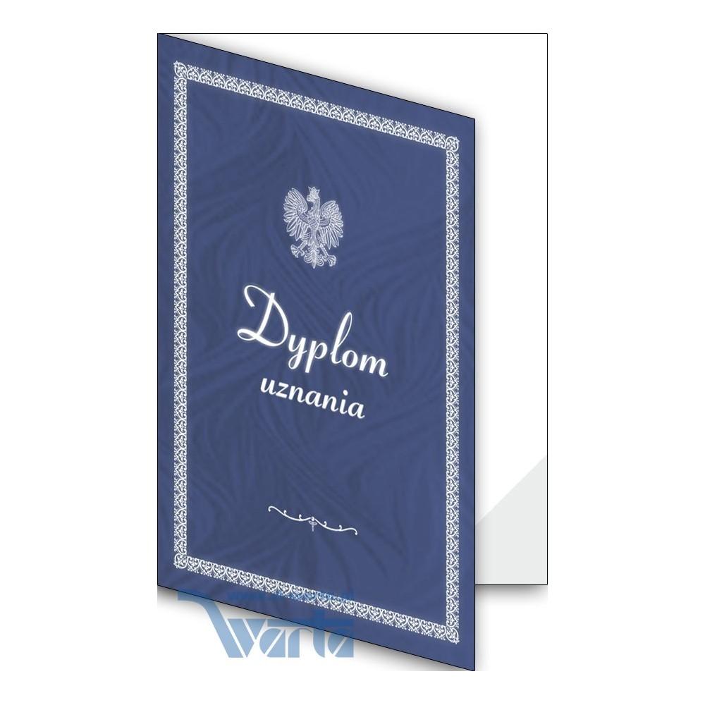 1824-333-701 02F Okładka okolicznościowa - Dyplom uznania - wzór 02, narożnik foliowy