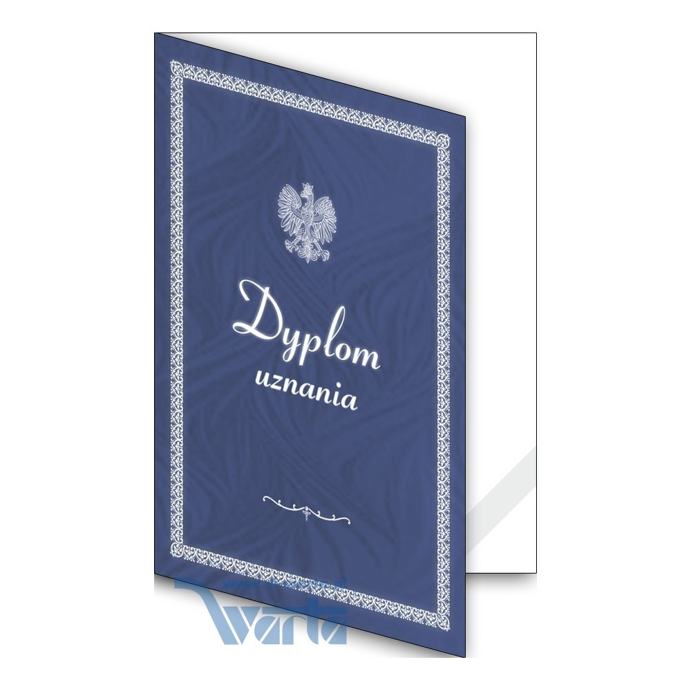 1824-333-700 02K Okładka okolicznościowa - Dyplom uznania - wzór 02, narożnik kartonowy