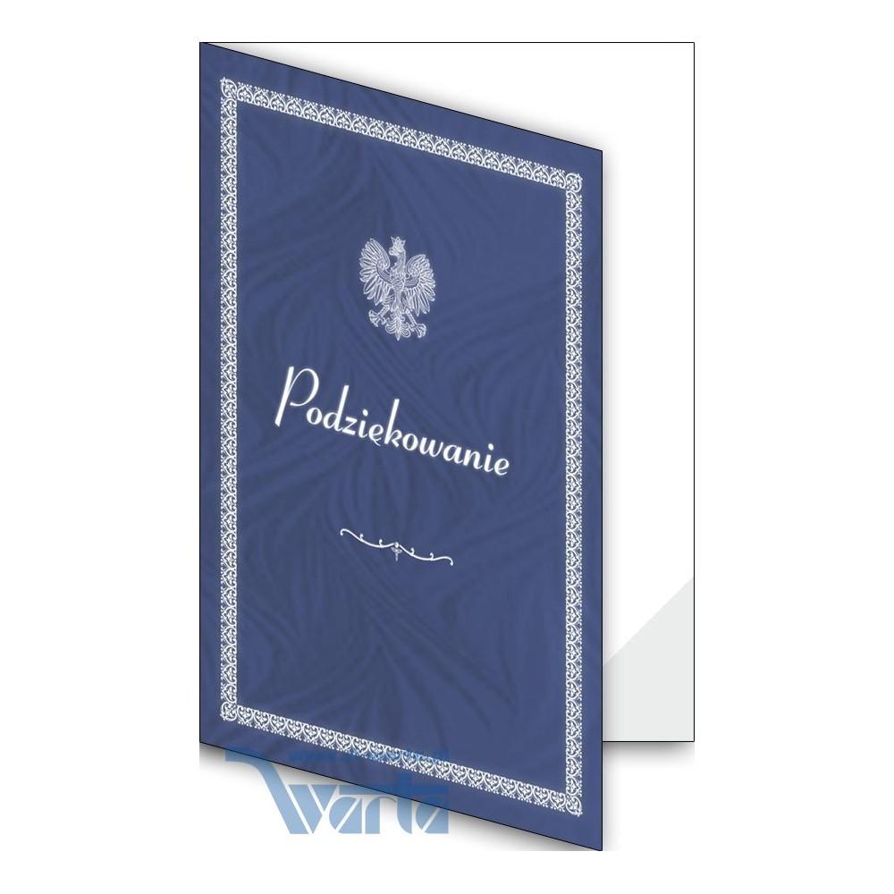 1824-333-701 04F Okładka okolicznościowa - Podziękowanie - wzór 04, narożnik foliowy