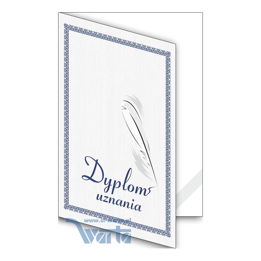1824-333-700 06K Okładka okolicznościowa - Dyplom uznania - wzór 06, narożnik kartonowy