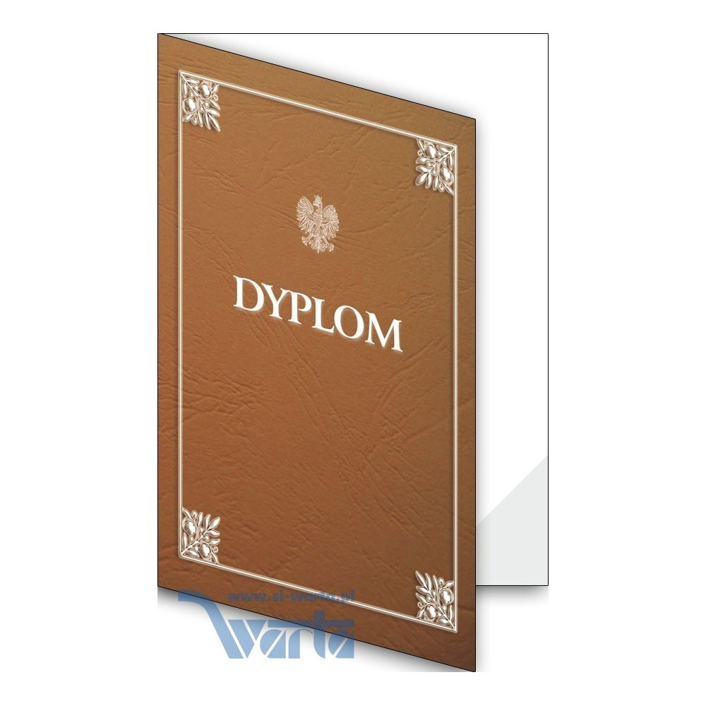 1824-333-701 09F Okładka okolicznościowa - Dyplom - wzór 09, narożnik foliowy