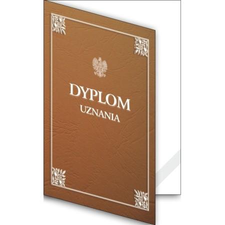 1824-333-700 10K Okładka okolicznościowa - Dyplom uznania - wzór 10, narożnik kartonowy
