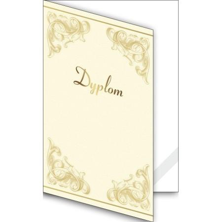 1824-333-700 17K Okładka okolicznościowa - Dyplom - wzór 17, narożnik kartonowy
