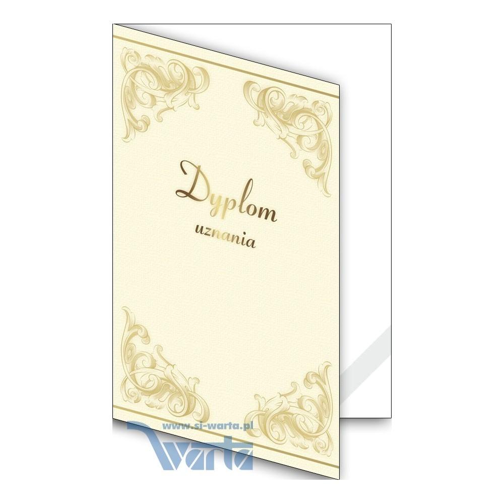 1824-333-700 18K Okładka okolicznościowa - Dyplom uznania - wzór 18, narożnik kartonowy