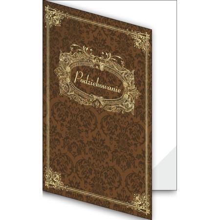 1824-333-701 28F Okładka okolicznościowa - Podziękowanie - wzór 28, narożnik foliowy