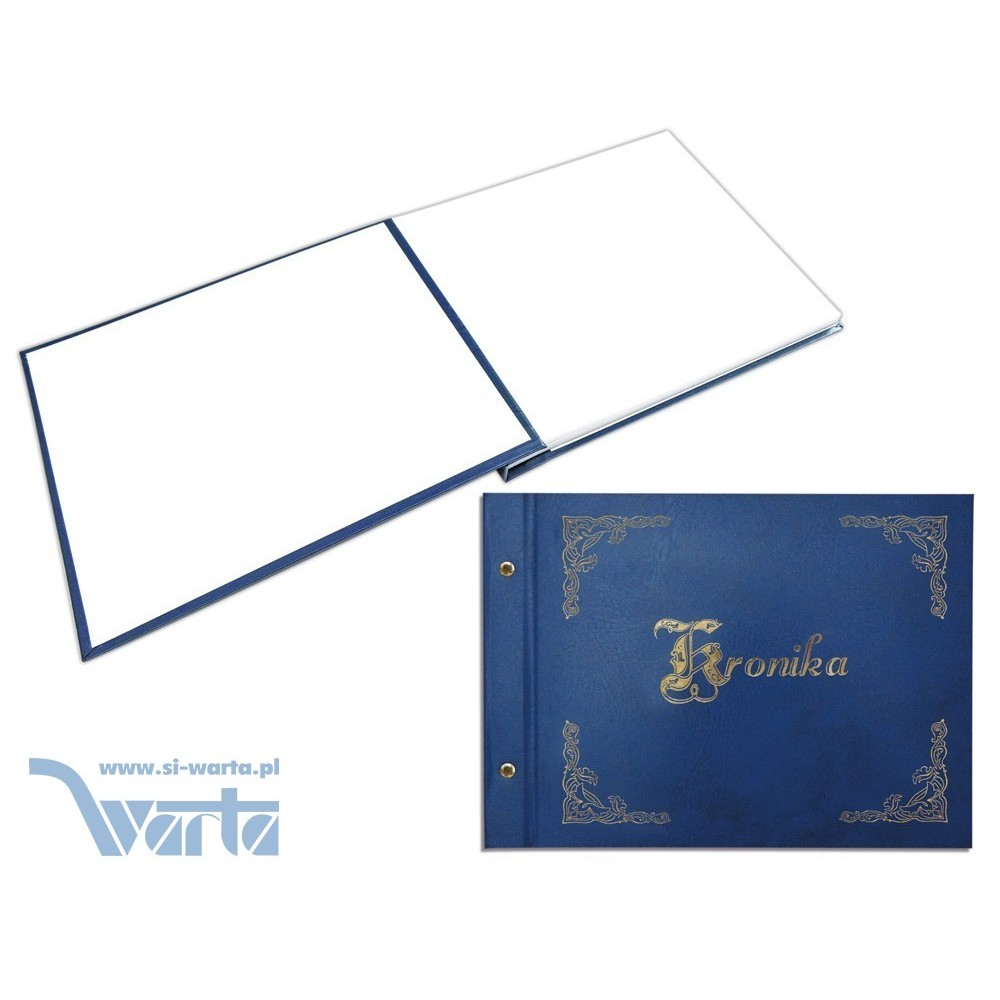 1829-319-002 Kronika złocona 415x297, 200 kart - granat