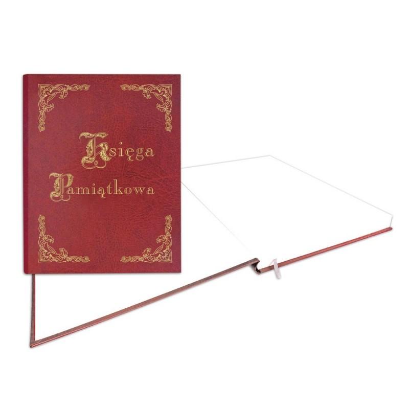 1829-319-035 Księga Pamiątkowa złocona 255x320 - bordo