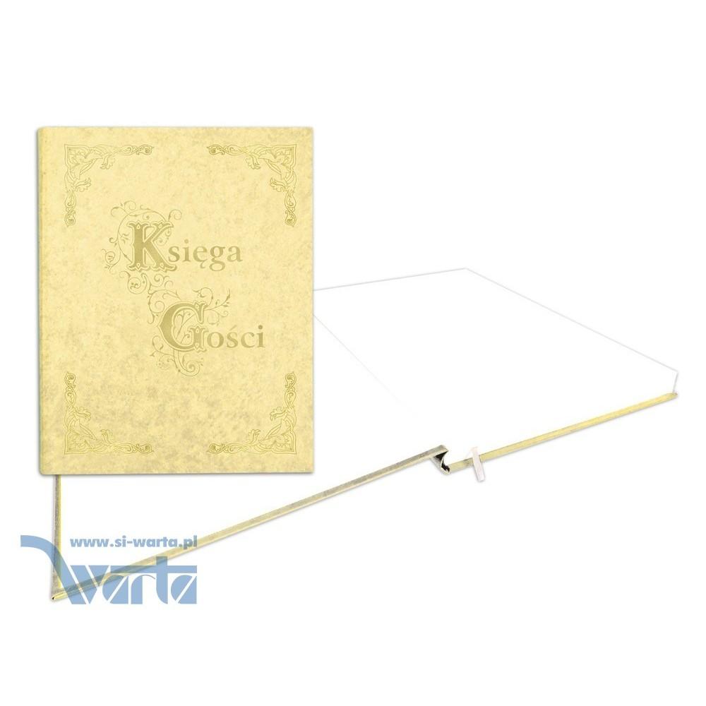 1829-319-080 Księga Gości złocona 255x320 - beż