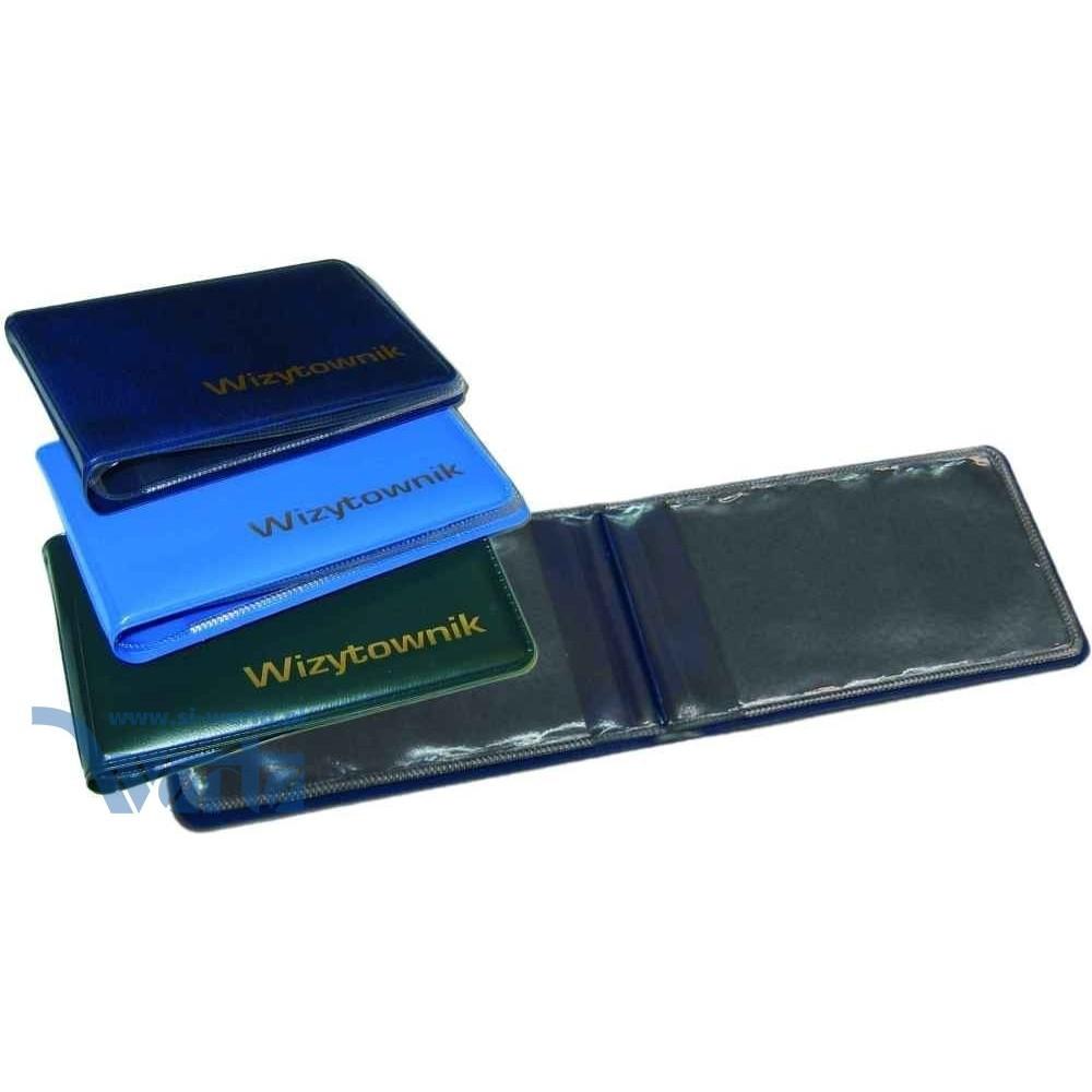 2883-999-008 Wizytownik na 12 wizytówek 116x65, folia galanteryjna