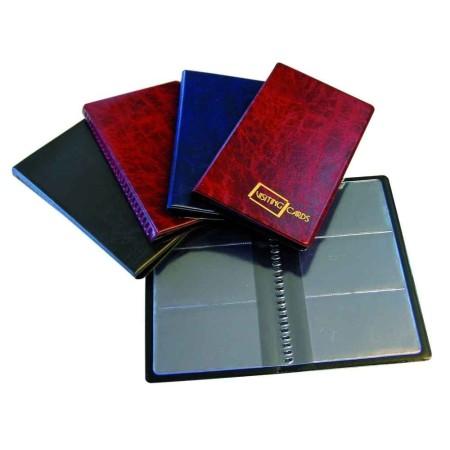 2883-999-010 Wizytownik na 60 wizytówek, 122x203, folia importowana