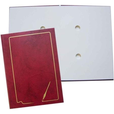 Teczka do podpisu 10k, grzbiet kryty, z ramką (4 kolory)