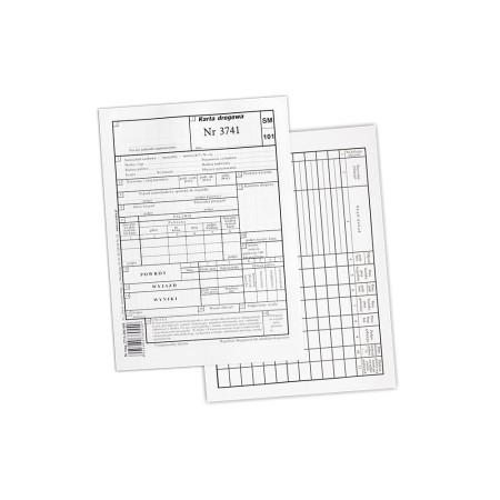 2713-390-456 Karta drogowa A5 (numerowana)