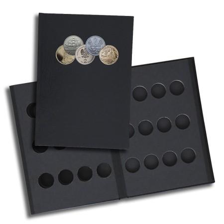 1829-112-002 Album na monety 2 złotowe Golden Nordic, 4k, przód