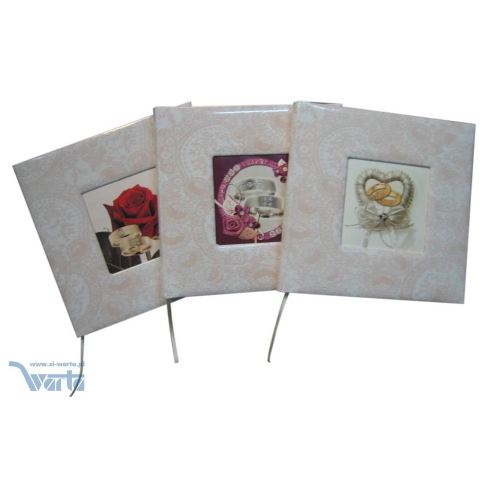 1829-319-097 Księga Gości Weselnych 225x220, różowa