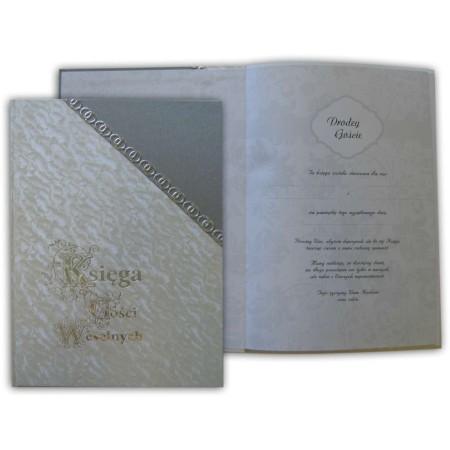 Księga Gości Weselnych 215x305, okładka z narożnikiem