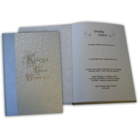 Księga Gości Weselnych 215x305, okładka łączona