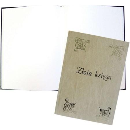 1829-319-042 Złota księga złocona 220x30 - beż