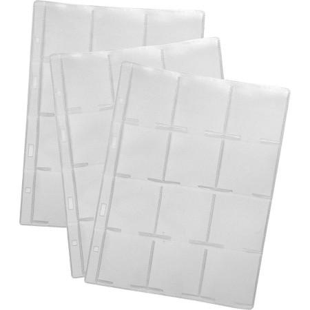 1829-311-026 Karta foliowa 185x232 na holdery, 12 kieszonek